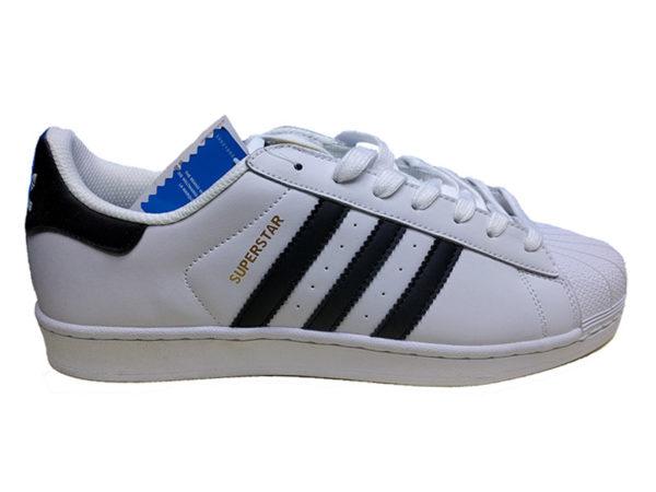 Adidas Superstar белые с черным (35-45)