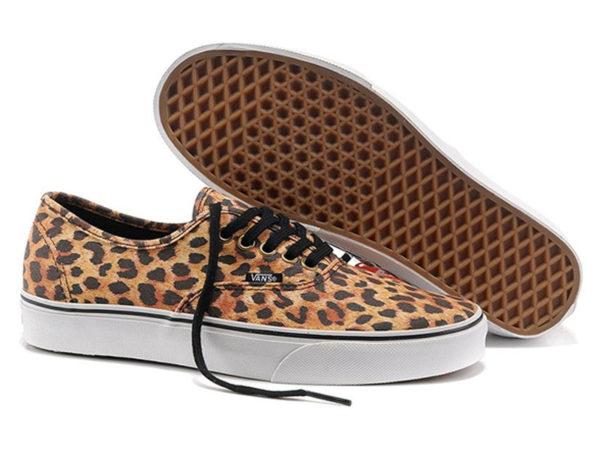 Vans Authentic леопардовые бежевые (35-41)
