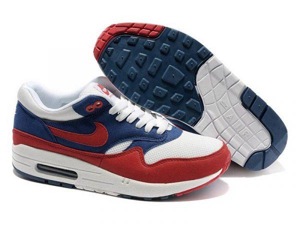 Nike Air Max 87 красно-синие с белым (40-46)