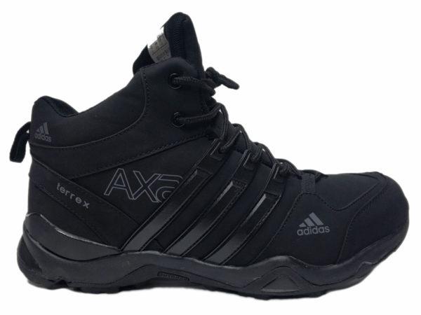 Adidas Terrex Outdoor Mid на меху черные (40-46)