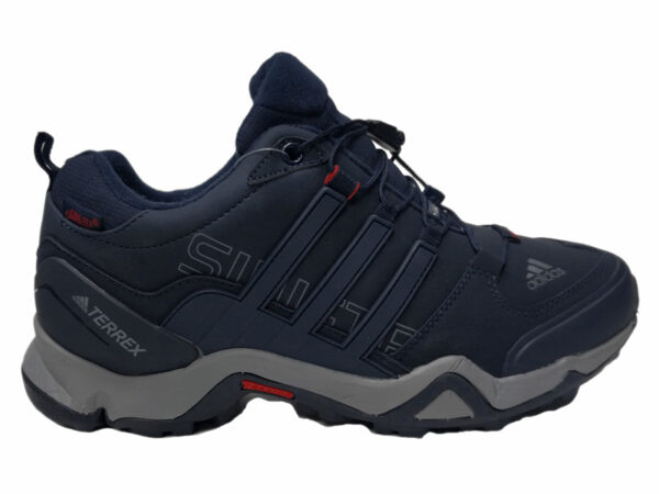 Adidas Terrex Traxion на меху темно-синие (40-46)
