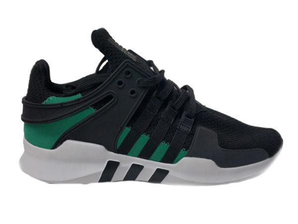 Adidas Equipment ADV 91-17 черные с зеленым (40-45)