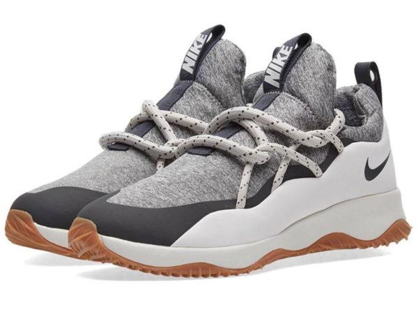 Nike City Loop серые с белым (35-45)