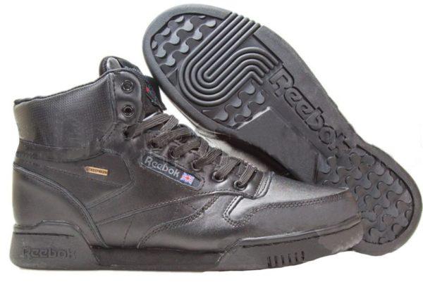 Reebok Classic Leather High Black (40-45)