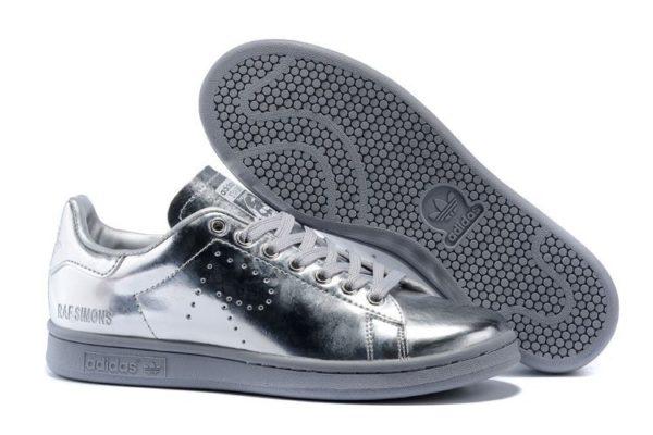Adidas Stan Smith Silver серебряные (36-39)
