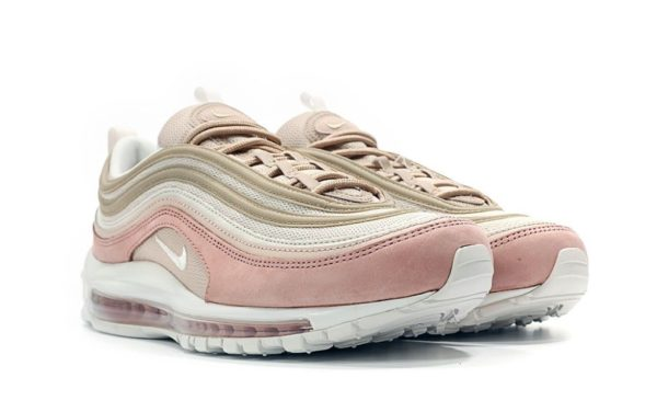 Nike Air Max 97 розовые замша женские (35-40)