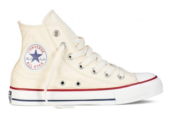 Converse All Star высокие бежевые (35-45)