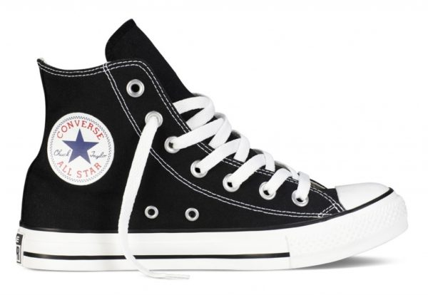Converse All Star высокие чёрно-белые black white (35-45)