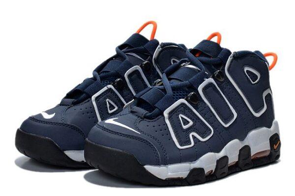 Nike Air More Uptempo синие с белым 40-45