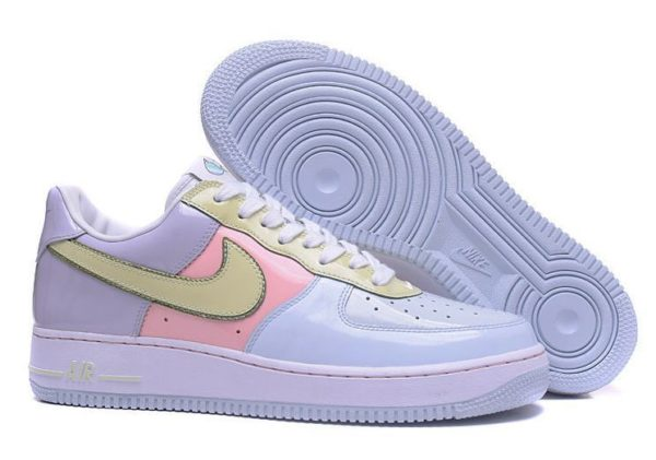 "Nike Air Force 1 Low ""Easter"" фиолетовые с голубым (35-39)"