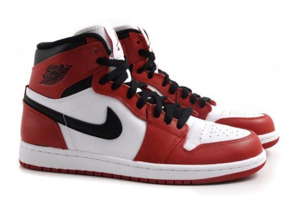 Nike Air Jordan 1 Retro Red красные 35-45