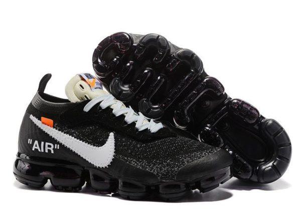 Nike Air VaporMax OFF-WHITE x black черные (40-44)