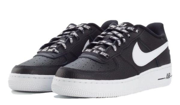 Nike Air Force 1 LV8 NBA черно-белые (40-45)