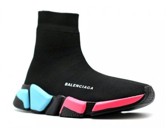 Balenciaga Speed Trainer черные-цветные (35-39)