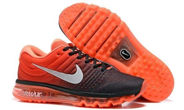 Nike Air Max 2017 черно-оранжевые (40-44)