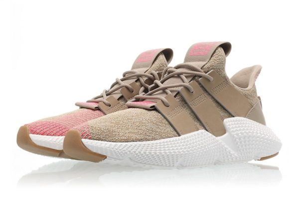 Adidas Prophere коричневые с розовым (35-39)