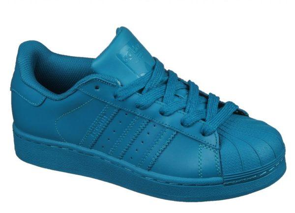 Adidas Superstar бирюзовые (35-39)