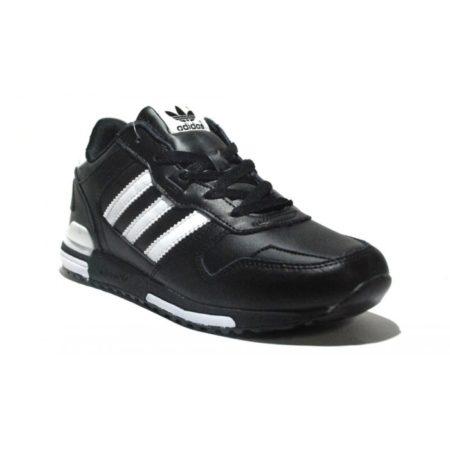 Adidas ZX 700 leather black мужские (40-45)