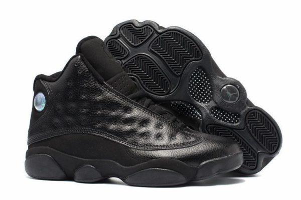 Nike Air Jordan 13 Retro All Black черные (40-45)