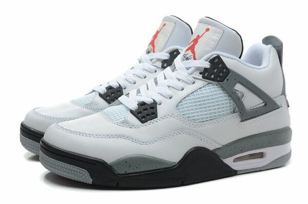 Nike Air Jordan 4 Retro белые (39-45)