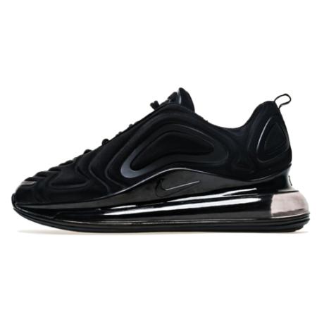 Nike Air Max 720 Black черные мужские-женские (35-44)