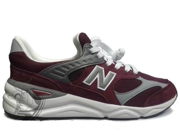 Бордовые кроссовки New Balance