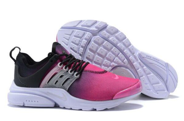 Nike Air Presto фиолетовые с черным (35-39)
