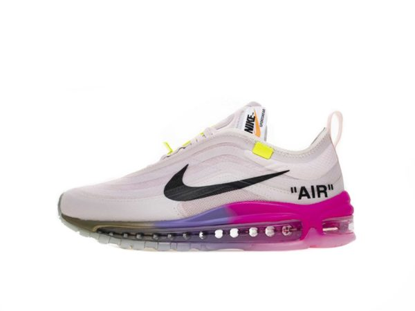 off-white x nike air max 97 rose barely 35-39