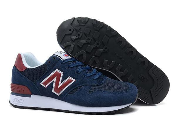 New Balance 670 темно-синие с красным (40-44)