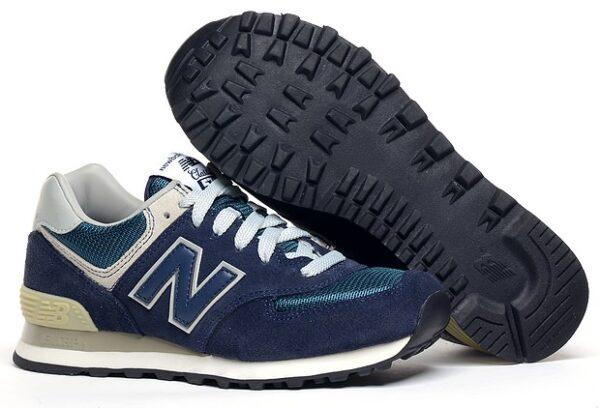 New Balance 574 темно-синие (40-46)