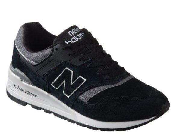 New Balance 997 черные (40-44)