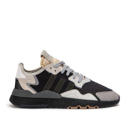 Adidas Nite Jogger черно-серые с белым (40-44)