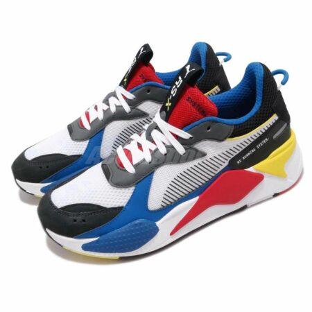 Разноцветные кроссовки Puma