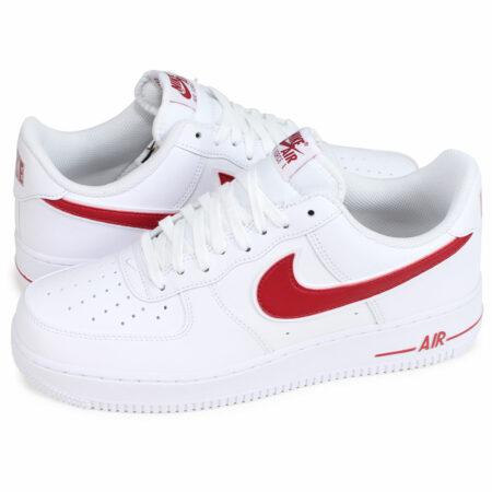 Nike Air Force 1 LV8 белые с красным (35-44)