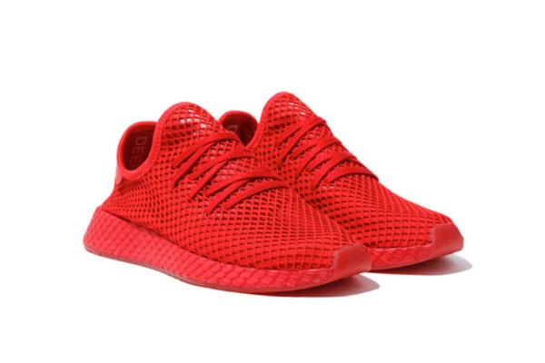 Adidas Deerupt Runner красные мужские (40-44)