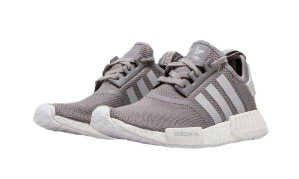 Adidas NMD R1 серые мужские (40-44)