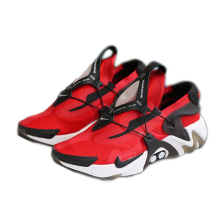 Nike Adapt Huarache красные с черным мужские (40-44)