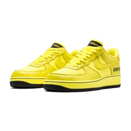 Nike Air Force 1 Low Gore-Tex жёлтые кожаные мужские (40-44)