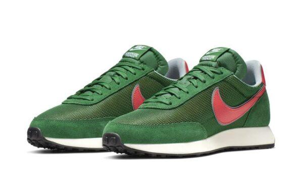Nike Tailwind зеленые с оранжевым мужские (40-44)