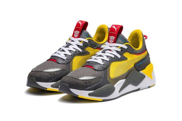 Желтые кроссовки Puma