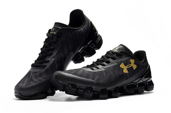 Under Armour Scorpio черно-серые с золотым мужские (40-45)