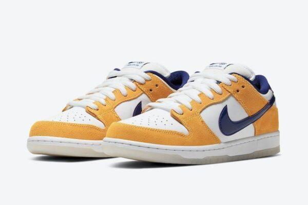 Желтые кроссовки Nike