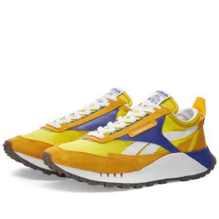 Желтые кроссовки Reebok