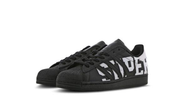 Adidas Superstar черно-белые кожаные мужские (40-45)